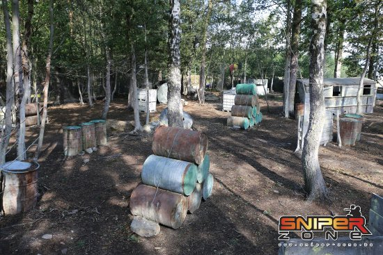 Sniper Zone : Paintball Outdoor Malmedy - Zone Bravo