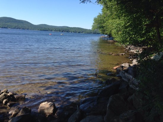 Speculator, NY: View from Camp Site