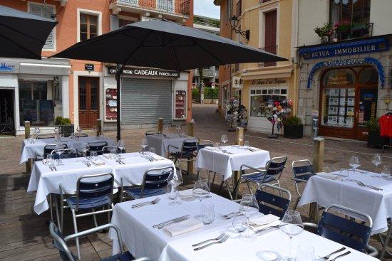 Le comptoir carnot aix les bains restaurant reviews for Bains les bains restaurant