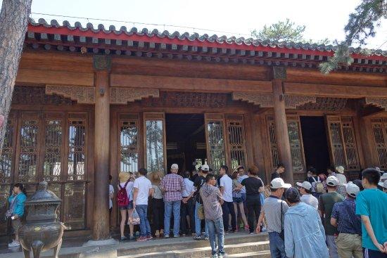 Museum of Summer Resort: 山荘に入って最初に見学するところなので、人が固まっています