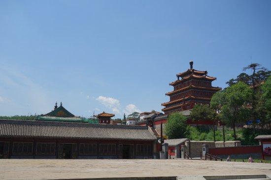 Chengde, Kina: 普寧寺に隣接