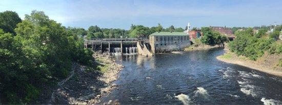Skowhegan, Maine: Nice views of the Kennebec River in Skowhegan!
