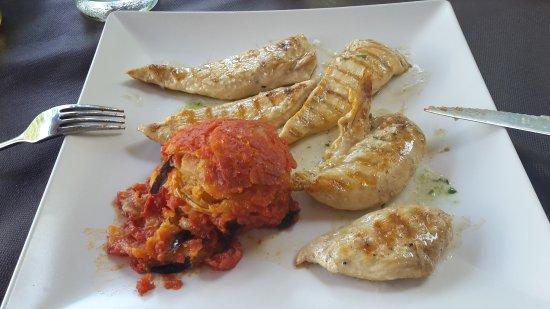 Orient: Pollo mit Beilage
