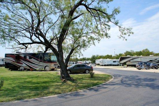 Aubrey, TX: RV Park View