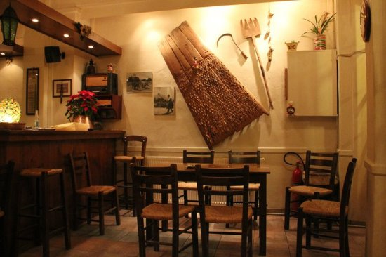 Archanes, Grekland: ' Η Aγορά ' -  Agora
