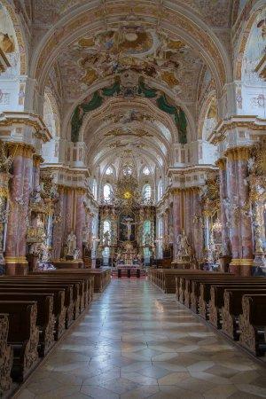 Furstenfeldbruck, Germany: Innenraum der Klosterkirche