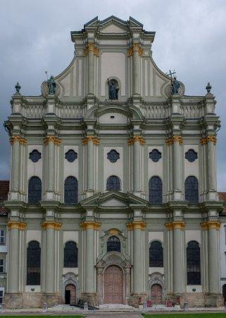 Furstenfeldbruck, Germany: Vorderseite der Klosterkirche