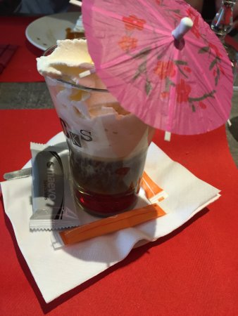 Quetigny, Francia: Irish coffee