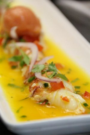 Ola at the Sanctuary: Lobster Ceviche