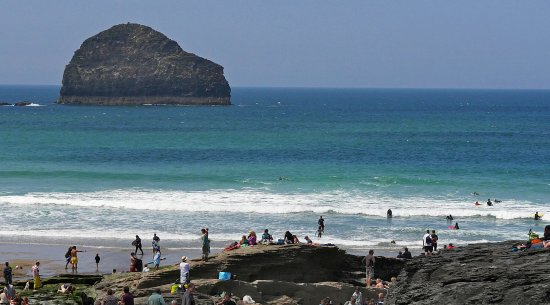 Otterham, UK: Trebarwith Strand