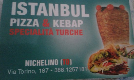Nichelino, Italy: Istanbul Kebab
