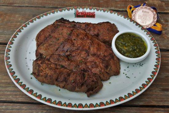 Landhuis Brakkeput Mei Mei: 1 Kg steak!