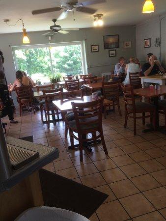 Flemington, NJ: Good food. Good service. Nice selection of salads and sandwiches.