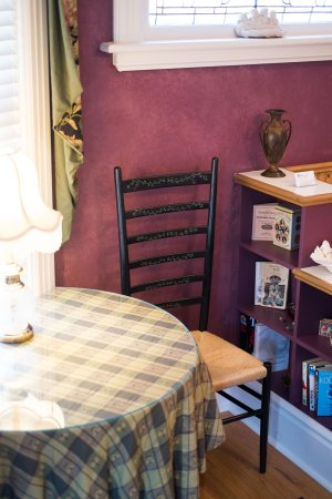 The Old Rectory: Room #1 writing table