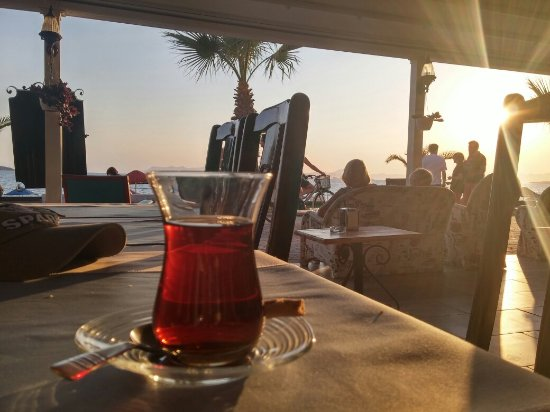 Guzel Bir Gun Batimi Adrian Beach Hotel Fethiye Resmi Tripadvisor