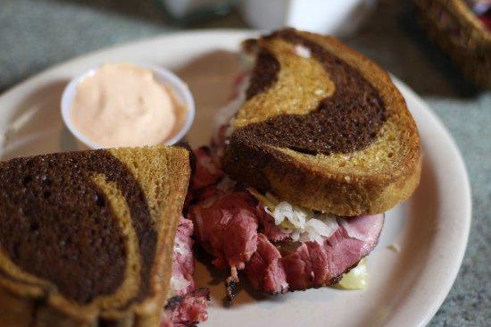 Spokane Valley, WA: Reuben Sandwich