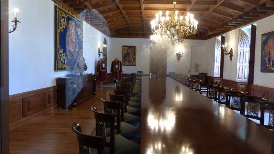 Soutomaior, Espagne : salle restaurée