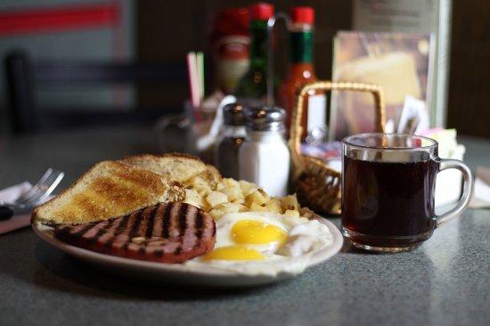 Spokane Valley, WA: Bone-In Ham Steak Breakfast