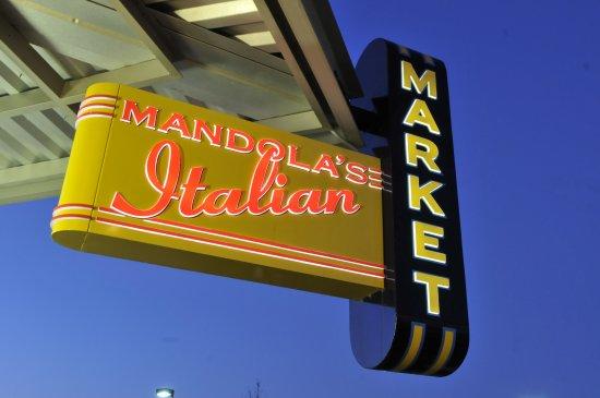 Mandola's Italian Market: Store front