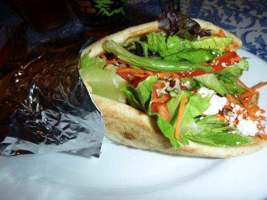 Athens, OH: Salaam Salad Wrap
