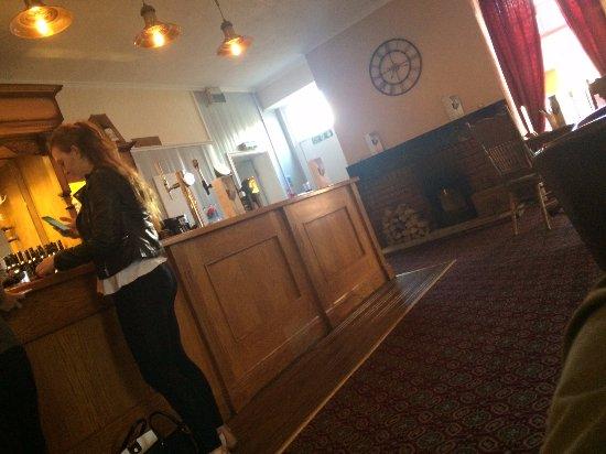 Hamsterley, UK: Main bar area
