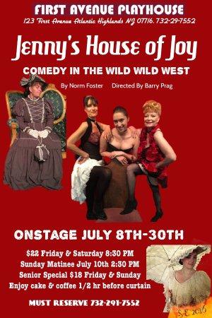 Atlantic Highlands, نيو جيرسي: July 2016 Brothel in 1800's Wild West