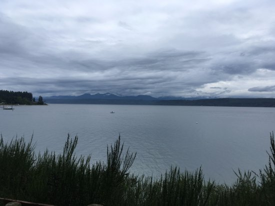 Kitsap Memorial State Park : view from beach
