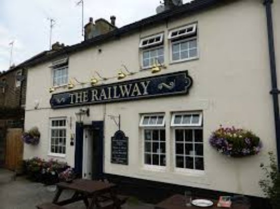 Cononley, UK: The Railway