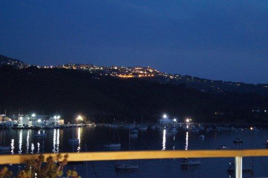 Hotel Plaza : vista dalla terrazza su Capoliveri
