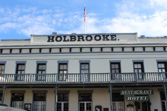 Grass Valley, CA: The beautiful Holbrooke Hotel