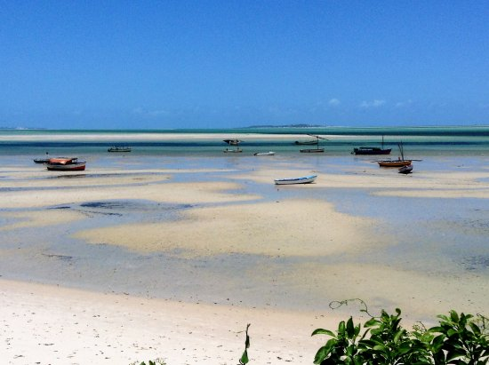 Vilanculos, Mozambik: Vilankulos at low tide