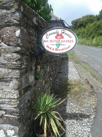 Coombe House Bed and Breakfast : 01/07/17