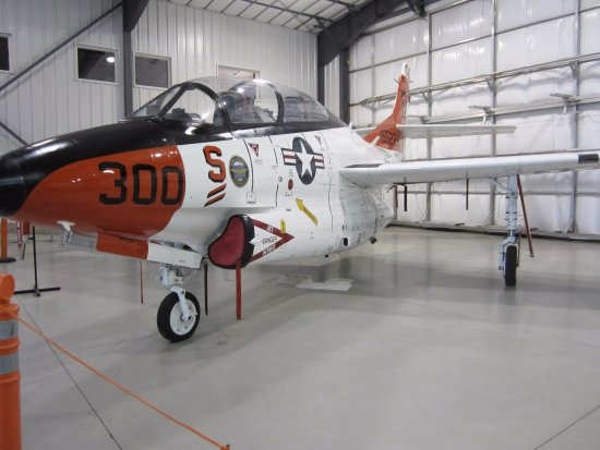 Teton Aviation Center: picture of one of the planes in the museum