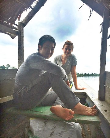 Allpahuayo Mishana National Reserve: Boat ride back to Iquitos on the third day!