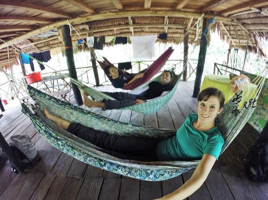 Allpahuayo Mishana National Reserve: We loved these hammocks!