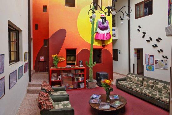 Mama Simona Hostel: Lobby del Hostel