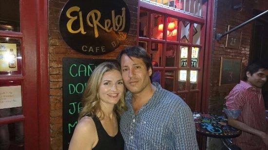 El Reloj Cafe Bar : Our favorite bar in Alcala de Henares