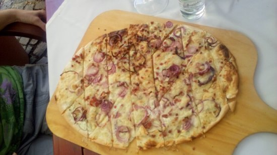 Zur Schlosswache: super, lecker Flammkuchen
