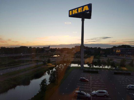 View from westcord hotel delft foto van ikea delft tripadvisor - Suspensio geen externe ikea ...