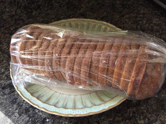 Morris, IL: Sliced Cinnamon bread