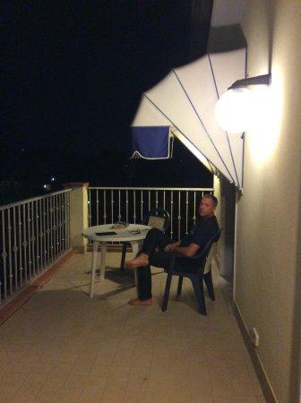 Hotel Fortunella: Dakterras bovenste etage