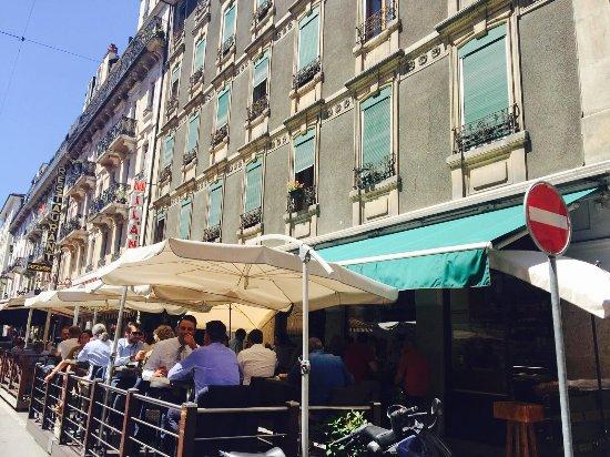 Il Monte Bianco: Déjeuner en terrasse
