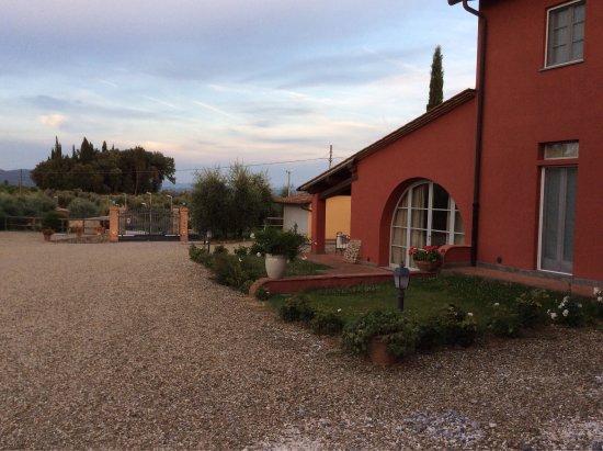 Residenze Piandaccoli: Photos prises lors de notre séjour en juin/juillet 2016.