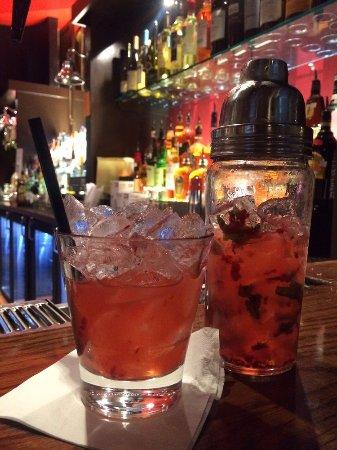 TGI Friday's: Double Berry Mojito