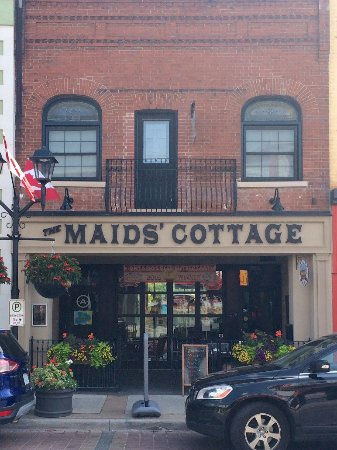 The Maids' Cottage: The view from the street
