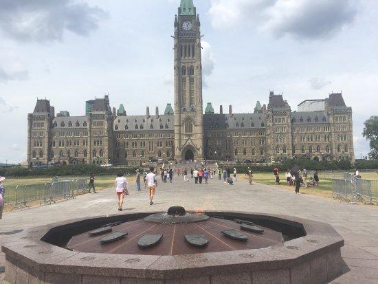 Ottawa, Canadá: Parliament building, central block