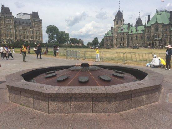 Оттава, Канада: Parliament building, central block
