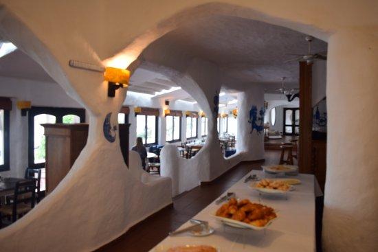 Club Hotel Casapueblo : Área do café da manhã