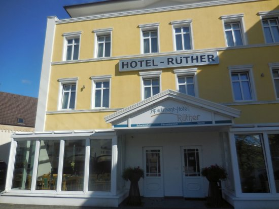 Apartment-Hotel Ruether: Hoteleingang