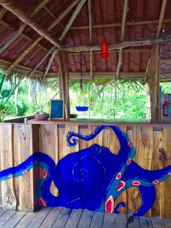 Isla San Cristobal, Panama: Welcome Bar